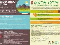Centri estivi di educazione ambientale per ragazzi