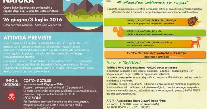 centri estivi di educazione ambientale