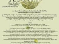 Ars herbaria, corso di cultura del paesaggio e piante medicinali