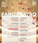 Fano - Stagione Teatrale 2016/17