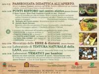 Grugni e Crespigne, a Serra de' Conti un vero proprio tour alla scoperta delle erbe.