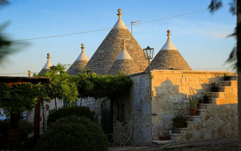 Trullo Mimosa and Trullo Magnolia