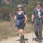 Premiers pas : couple entre Aumont,-Aubrac et Nasbinals, septembre 2013