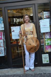 A la Maison du Livre de Rodez (août 2015)