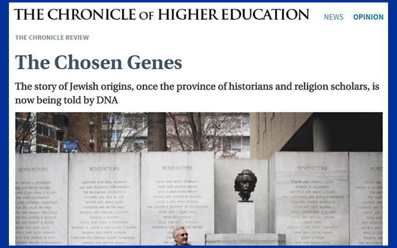 Race or Religion? Jewish Genes Identified