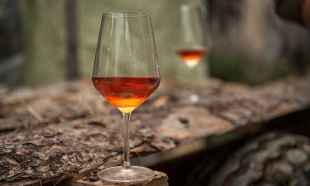 Orange-vin-Čotar-Slovenien