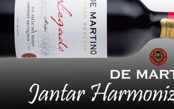 Jantar Harmonizado De Martino
