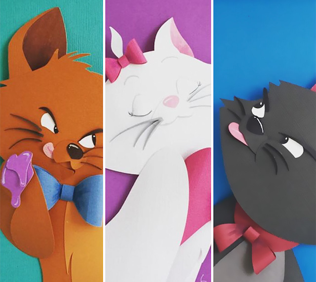 personajes-disney-papel-aristogatos