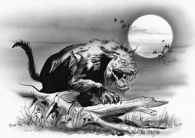 bestia vampiro de Bladenboro