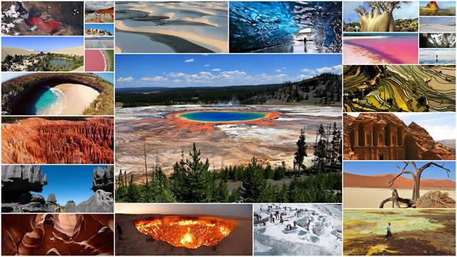 paisajes más surrealistas en la Tierra