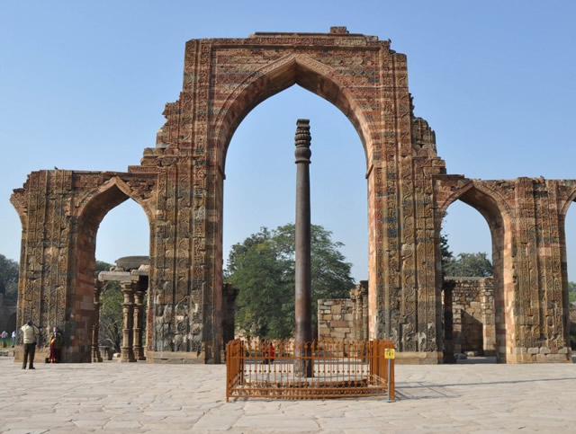 Pilar de hierro de Délhi