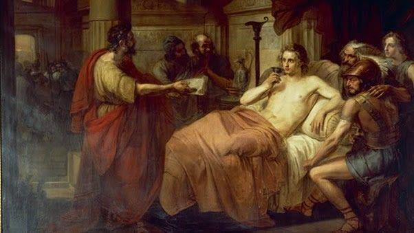 Resultado de imagen de la muerte de alejandro