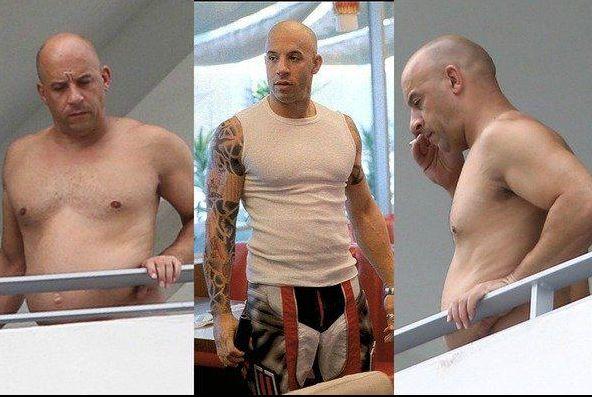 Vin Diesel aparece gordo y sin msculos  Marcianos
