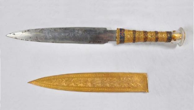 daga del emperador tutankamon