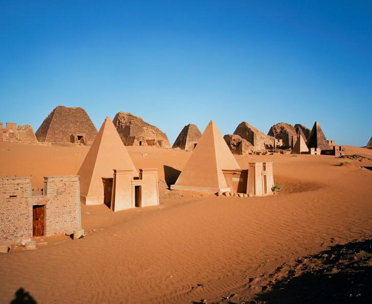 Meroë piramides
