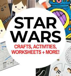 Top 50 Star Wars Crafts \u0026 Activities   Marcie and the Mouse [ 900 x 1200 Pixel ]