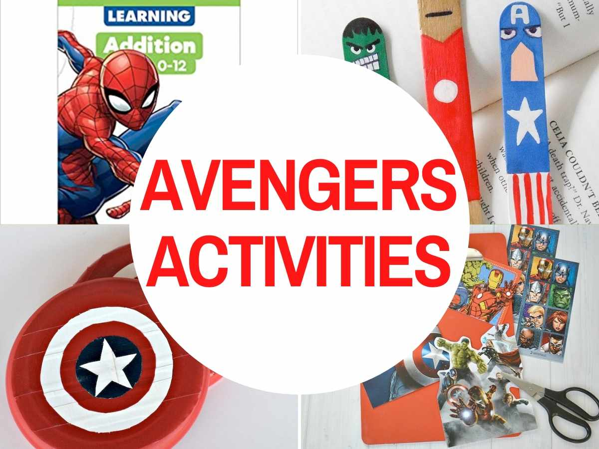 32 Super Cool Avengers Crafts Amp Activities