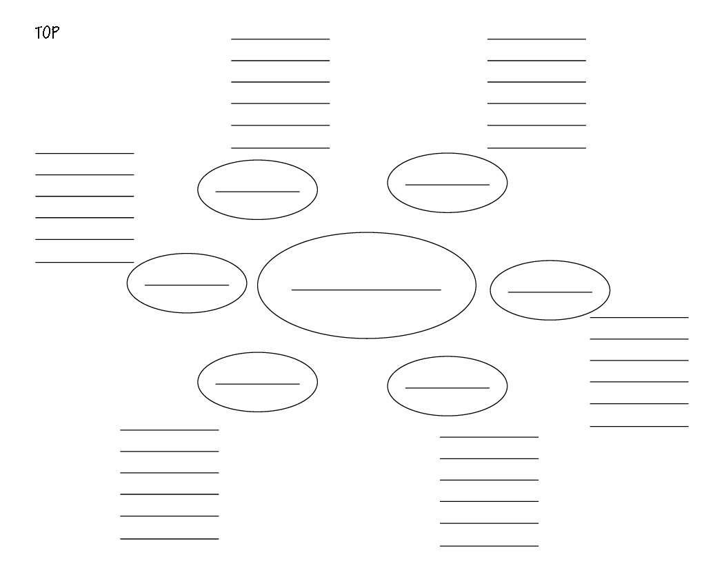 Microsoft Word Mindmap Grid C
