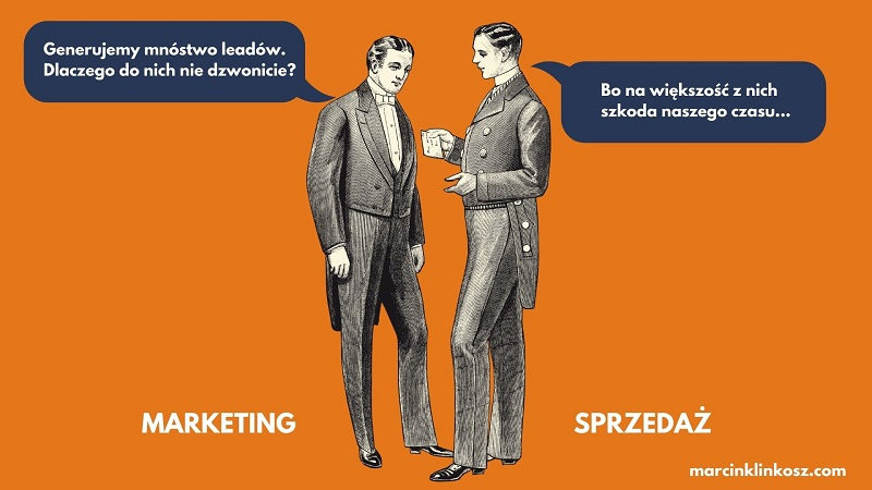lead marketingowy i sprzedażowy