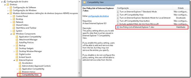 Internet Explorer Compatibility Mode via GPO (1/5)