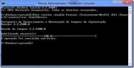 Como instalar o .Net Framework no Windows 8 sem Internet (2/2)