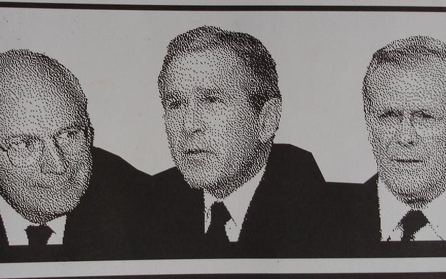Cheney, Bush, Rumsfeld