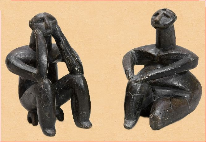 7000 BP: The Thinker and the Sitting Woman (1/4)