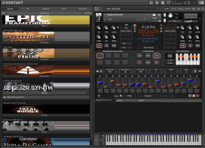 Audiofier SEQui2R Synth 353 MB ( Synth ) ( 64 Bits )
