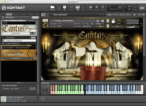Best Service Cantus Library 2,89 GB ( Vozes Orquestrais ) ( 32 Bits )