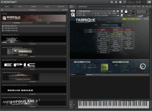 Cinematique Instruments Fabrique 358,4 MB ( Efeitos ) ( 32 Bits )