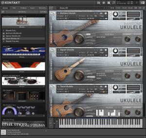 Cinematique Instruments Ukulele Trio 693 MB ( Ukulele )