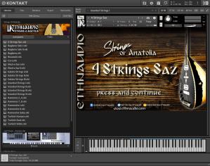 ETHNAUDIO Strings Of Anatolia 2,17 GB ( Cordas Arabes ) ( 64 Bits )