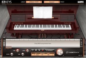 EZKEYS Uphright Piano