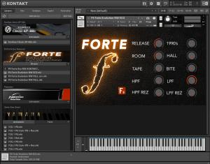 F9 Forte Evo Redwood 1,65 GB ( Pianos ) ( 32 Bits )