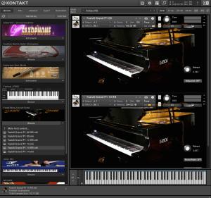 Fazioli Ebony Concert Grand 32,07 GB ( Piano )