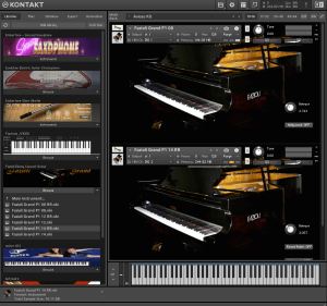Fazioli Ebony Concert Grand 32,07 GB ( Piano ) ( 32 Bits )