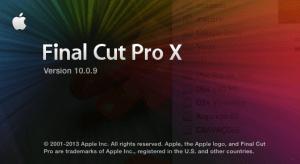 Final Cut Pro 10.0.9