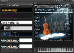 Kirk Hunter Studios Spotlight Strings 4,37 GB ( Cordas )
