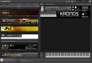 Korg Kronos - Grand Piano 213,2 MB ( Piano ) ( 32 Bits )