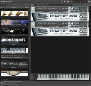 Motif XS7 102,1 MB ( Teclados )
