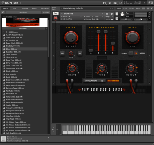 New Era 808 - Bass 1,31 GB ( Trap , Hip - Hop )