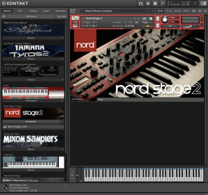 Nord Stage 2 Piano 1,29 GB ( Piano )