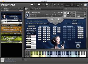 Realivox Blue Sample 1,96 GB ( Voz Orchestral )