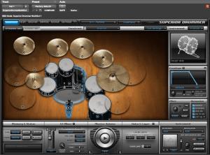 Superior Drummer 150,5 MB