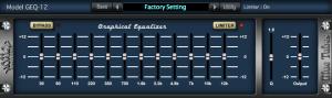 Nomad Factory BT Equalizer GEQ12-3