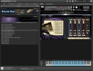 CineHarps 11,79 GB ( Harpas )( 64 Bts ) ( Kontakt 5.6.8 )
