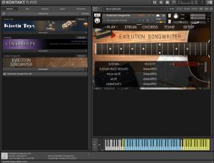 Evolution Songwriter 5,97 GB ( Violoes ) ( 64 Bits ) ( Kontakt 5.6.8 )