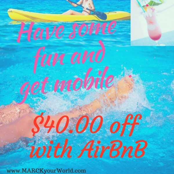 AirBnb Discount $40.00