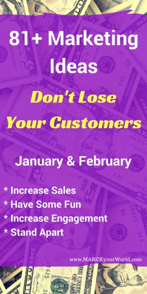 January and February Marketing Ideas