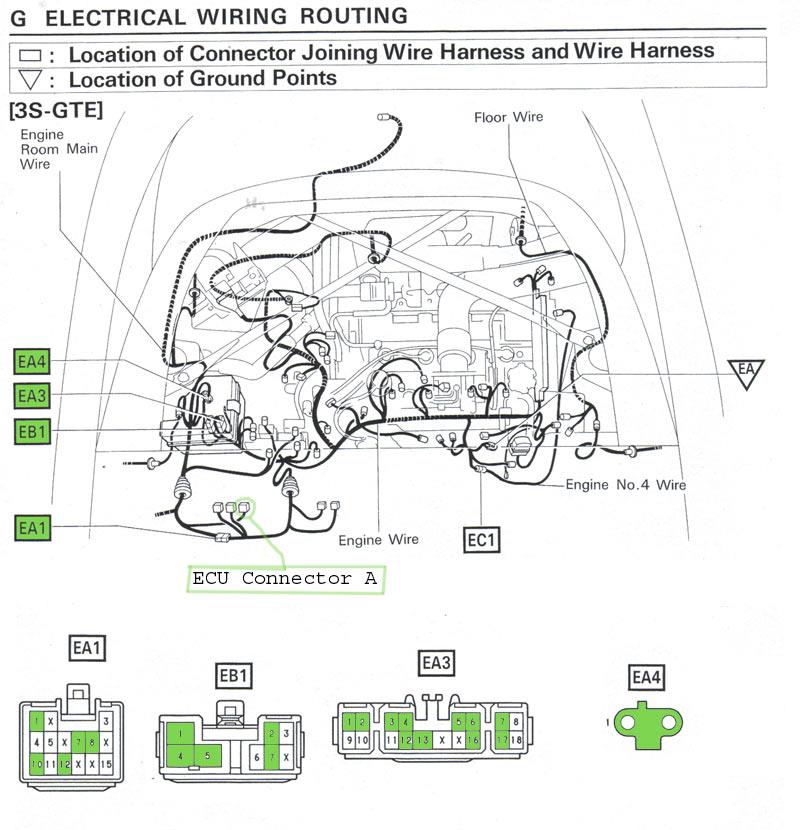 1994 Toyota Pickup Wiring Diagram 1987 Toyota Supra Wiring